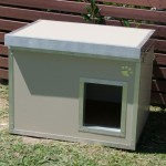 Small Insulated Patio Kennel