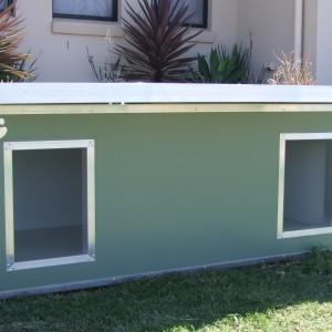 Dual kennel custom made