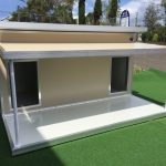 Insulated Dual Kennel with Verandah